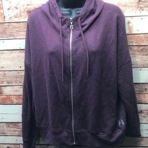 Victoria's Secret zip hoodie jacket medium Z10